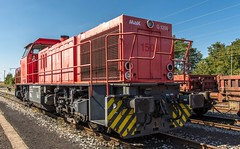 07_2018_09_02_Wanne_Eickel_Üwf_1275_829_WLH (ruhrpott.sprinter) Tags: ruhrpott sprinter deutschland germany allmangne nrw ruhrgebiet gelsenkirchen lokomotive locomotives eisenbahn railroad rail zug train reisezug passenger güter cargo freight fret herne wanne eickel wanneeickel üwf dispo mrcedispolok eloc ell vectron wlh siemens vossloh mak 1275 6182 6193 es64u2 es 64 u2 txl txlogistik schienen weiche outdoor logo natur werbung