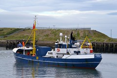 Aurora G. Blyth 210813 (silvermop) Tags: ship boats ships workboats guardvessels port river blyth aurorag