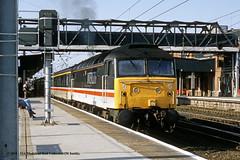 c.05/1993 - Doncaster, South Yorkshire. (53A Models) Tags: britishrail intercity class47 diesel passenger doncaster southyorkshire train railway locomotive railroad