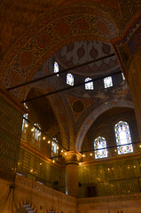 The Blue Mosque (itchypaws) Tags: interior 2018 istanbul turkey europe holiday vacation sultan ahmed ahmet mosque camii blue inside lights