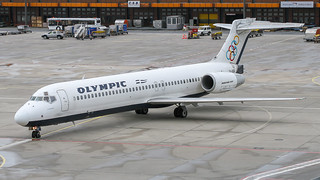 Olympic Boeing B717-2 SX-BOB