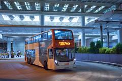 LWB Alexander-Dennis Enviro500 MMC Facelift 12.8m UD6056 A43P (Thomas Cheung Bus Photography) Tags: sony a7 ilcea7 lwb kmb longwinbus kowloonmotorbus adl alexanderdennis enviro500 enviro 500 doubledecker hongkong publictransport masstransit airportbus mmc newgeneration majormodelchange facelift night