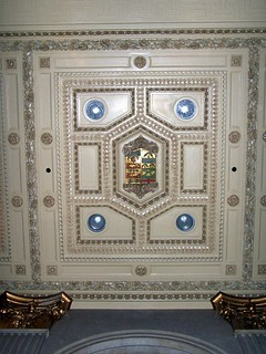 Toronto Ontario - Canada -One King West Hotel and Residence  - AKA - The Dominion Bank Building -  Original Ceiling