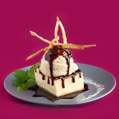 pastel con helado (carmenmedinalopez) Tags: food foodstyling foodphotography color foodesing estilismodealimentos estilismogastronomico estilismoculinario mexicanfood