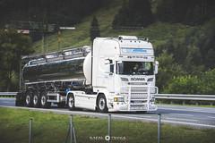Scania R520 V8 Topline [D] (scania620) Tags: austria scania v8 tank nikon germany topline motion