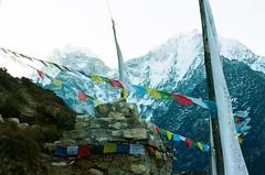 16 (Benrightpaul) Tags: nepal prayer flags everest 35mm af35ml