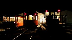 East Troy Nocturnal Activities (Laurence's Pictures) Tags: east troy electric railroad museum milwaukee light power interurban freight motor streetcar transportation wisconsin rail railway locomotive