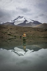Kang Yangtze, Ladakh #india #ladakh #lake #asia #mountain #mountains #himalayas #highhimalayas #6400meters #reflection #buddha #lake #snow #kangyangtse #makhavalley #markha (James C Farmer) Tags: india ladakh lake asia mountain mountains himalayas highhimalayas 6400meters reflection buddha snow kangyangtse makhavalley markha