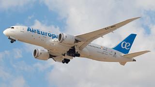 TLV - Air Europa Boeing 787-8 EC-MIH