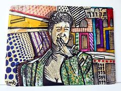 Tikva תקווה - Painting (danor shtruzman) Tags: art abstract digital flowersprint animal beauty mountains wallpaper woman people snow white flower paint sea graffitinude nature draw light winter birdcatsound fashion chic groove grunge star watercolor kiss book paper banksy waterretrobrazil street urban vintage shepardfaireybomber ebay cooldrawing painting sketch illustration popart streetart handmadeisraelhouse car food bw old macro music new garden orange moon summer city trees yellow lake christmas bridge family river