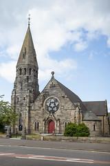 Broxburn Parish Church (David_Leicafan) Tags: 35mmsummicronasph church hippolytejblanc frenchgothic rosewindow