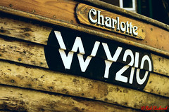 Charlotte WY210 (red.richard) Tags: clinker boat name charlotte wy210 wood robin hoods bay sea maritime