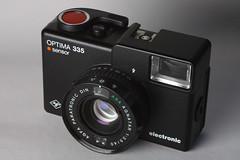 Agfa Optima 335 (a.zwinckmann) Tags: 335 optima agfa analog camera 35mm agnatar sensor electronic objektiv
