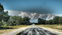 Caprivi (jan-krux photography - thx for 3 Mio+ views) Tags: caprivi namibia africa afrika landscape landschaft strasse road dramatic dramatisch olympus omd em1 wolken clouds himmel sky baum tree forest wald travel reisen adventure abenteuer