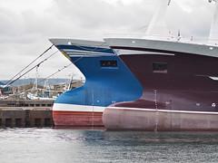 F8126925 E-M5ii 75mm iso200 f1.8 1_4000s (Mel Stephens) Tags: fraserburgh uk scotland aberdeenshire 20180812 201808 2018 q3 4x3 wide olympus mzuiko mft microfourthirds m43 75mm omd em5ii ii mirrorless transport boat ship harbour best gps