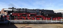 52 8154-8 auf der Drehscheibe (Thomas230660) Tags: dampflok steamtrain arnstadt sony museum dampf lokomotiven