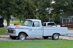 1966 Ford Pickup in Denison Texas (depotdude07) Tags: ford pickup denison antiqueauto classiccar automobile