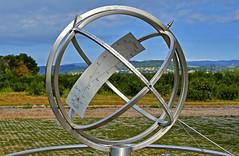 Cadran solaire de précision (Diegojack) Tags: buchillon vaud suisse cadran solaire sculptures oeuvre maillefer précision d500