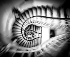 Making a Good Escape (Matthew Bickham) Tags: prague lightbulb stairs bulb escape czech city