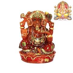 Ganesha Murti in Brown Aventurine | From Vedic Vaani™ (vedicvaani.com) Tags: deity god lord hindu idols statue sculpture ganesh gajanan ganpati vighneshvara vighanharta desktop itm vedic vaani flows towards murthi murti ganesha idol sculptors hinduism spiritual