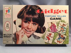 MB - Gidget Fortune Teller Game (toyfun4u) Tags: gidget game milton bradley