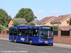 indi-go in style (Cymru Coastliner) Tags: trentbarton volvob7rle wrighteclipse 713 fj58kke bus chilwell nottingham indigo wellglade