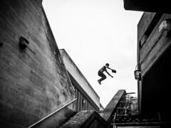 Jump (pretali-photography.com) Tags: london streetphotography bnw