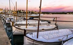 Llauts a Portocolom (Ramon InMar) Tags: portocolom mallorca llaut boat boats seashore seascape