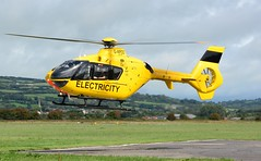 G-WPDD (3 of 4) (goweravig) Tags: gwpdd eurocopter ec135 helicopter visiting aircraft pembrey wales uk carmarthenshire pembreyairport wpdhelicopterunit electricity westernpowerdistribution