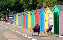 Seaside Huts. (curly42) Tags: dawlish devon seaside huts beachhuts