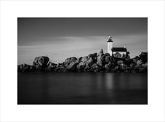 le phare de pontusval (ekkiPics) Tags: bretagne kerlouan pharedepontusval longexposure multipleexposure lighthouse seascape landscape brittany