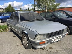 1983 Peugeot 505 V6 (Older and rare cars in Norway) Tags: peugeot 505 1983 french v6 carspotting