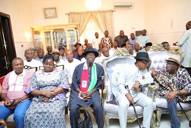 HSDickson- Condolence Visit by Yenegoa LGA Restoration Caucus. 24th August 2018