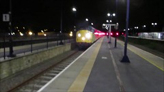 37116 TNT 97304 on Crewe C.S. (L&Nwr Site) - Crewe C.S. (L&Nwr Site) at Stalybridge very late / early hours 28/08/2018 (37686) Tags: with top driver martin board cheers for thrash tones fela 37116 tnt 97304 crewe cs lnwr site stalybridge very late early hours 28082018