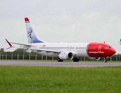 Norwegian                                         Boeing B737MAX                                   LN-BKB (Flame1958) Tags: norwegian norwegianairlines norwegianair norwegianboeing737 norwegianb737max boeing b737 737 b737max 737max lnbkb dub eodw dublinairport marktwain norwegianmarktwain norwegiantailhero tailhero 300818 0818 2018 8202