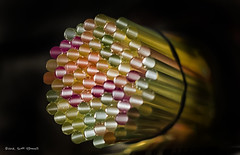 Straws of Light (scottnj) Tags: 365the2018edition 3652018 day245365 02sep18 straws straw light drinkingstraws scottnj colorful macro circle circles tube tubes scottodonnellphotography