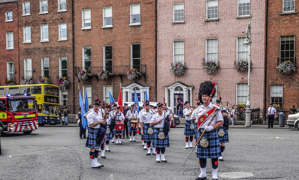 NATIONAL SERVICES DAY [PARADE STARTED OFF FROM NORTH PARNELL SQUARE]-143587