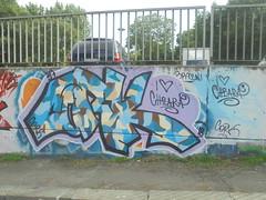 i <3 chiara (en-ri) Tags: cork 51 chiara braccini giallo blu torino wall muro graffiti writing