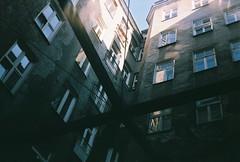 Sun king 2 (1_spacecake) Tags: film filmphotography smena fuji smena8m superia 35mm warsaw poland sun light urban city architecture architectureporn geometric rhythm shadow composition mood feeling