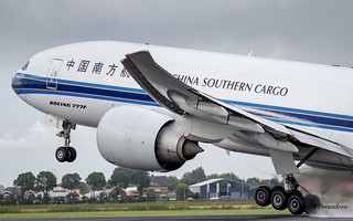 B-2041 China Southern Airlines Boeing 777-F1B MSN  LN