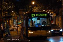 180822  (13) (chausson bs) Tags: tusgsal badalona autobuses autobusos buses man castrosua b9 nit night noche nocturnas nocturnes nuit 2018