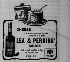 1907 advertisement for Lea & Perrins' Sauce (Matthew Paul Argall - Old Ads) Tags: 1907 1900s edwardian advertisement advertising printadvertising old vintage classic retro sauce leaperrins food worcestershiresauce