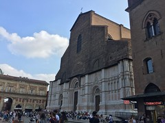 Basilica di Sam Petronio (grapatax) Tags: bologna sanpetronio basilica basilicadisanpetronio tardogotico gothicstyle