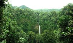 Costa Rica Waterfall (paolomilanese) Tags: jungle puravida vida pura centroamerica parconazionale park national parquenational carribean caraibi caribe rio arenal costarica green waterfall forest foret foresta verde acqua cascata