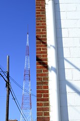 RVA Icon (pjpink) Tags: tower tv blue sky urban utilitypole pole scottsaddition rva richmond virginia august 2018 summer pjpink 2catswithcameras