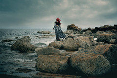 The Selkie's New Clothes (selenaarte) Tags: upcycled fashion nature fineart contemporary