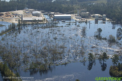 Hurricane Florence North Carolina Aftermath (Greenpeace USA 2016) Tags: hurricane aerial flooding florence northcarolina powerplant lumberton unitedstates usa