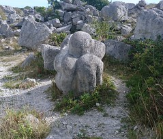 The Circle of stones, Portland UK. (thephantomzone2018) Tags: portland dorset sculpture sculptures quarry stone stones carving carved rock rocks