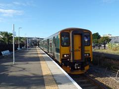 150202 Newquay (10) (Marky7890) Tags: gwr 150202 class150 sprinter 2n09 newquay railway cornwall atlanticcoastline train