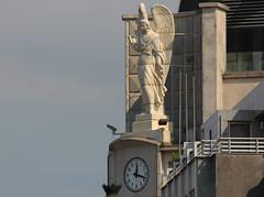 Vigo (hans pohl) Tags: espagne galice vigo architecture statues art horloges clocks